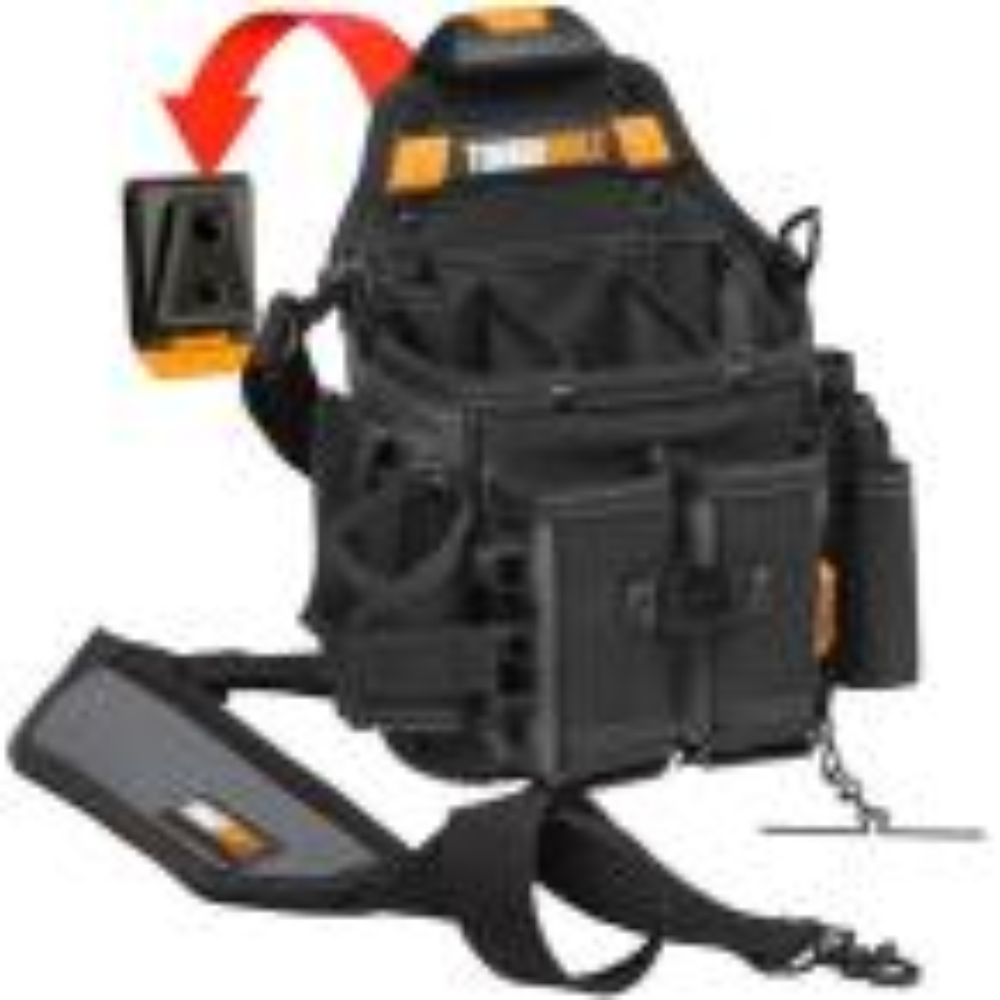 Journeyman Electrician Pouch Shoulder Strap, Black