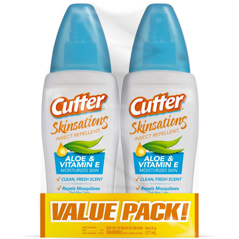 6 fl. oz. Skinsations Insect Repellent 2-Pump Spray