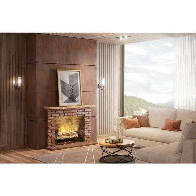 Revillusion 25 in. Electric Fireplace Insert Fresh Cut Log Set