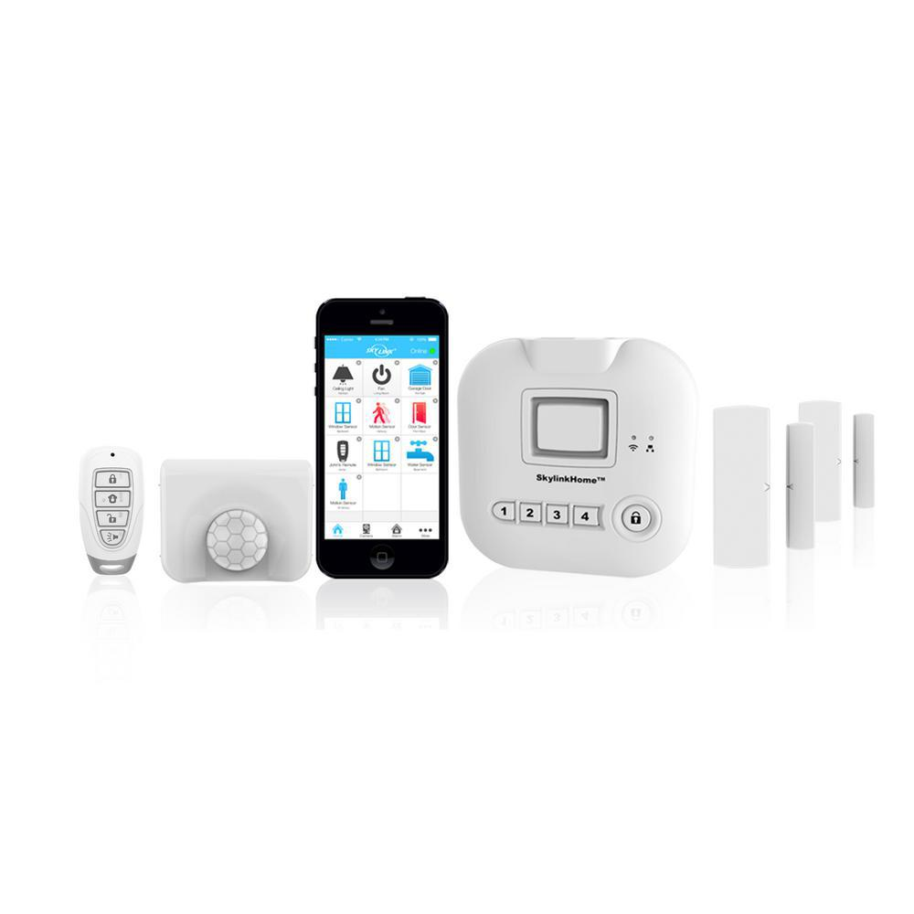 Skylink Wireless Alarm, Security System Kit - Echo Alexa and IFTTT compatible