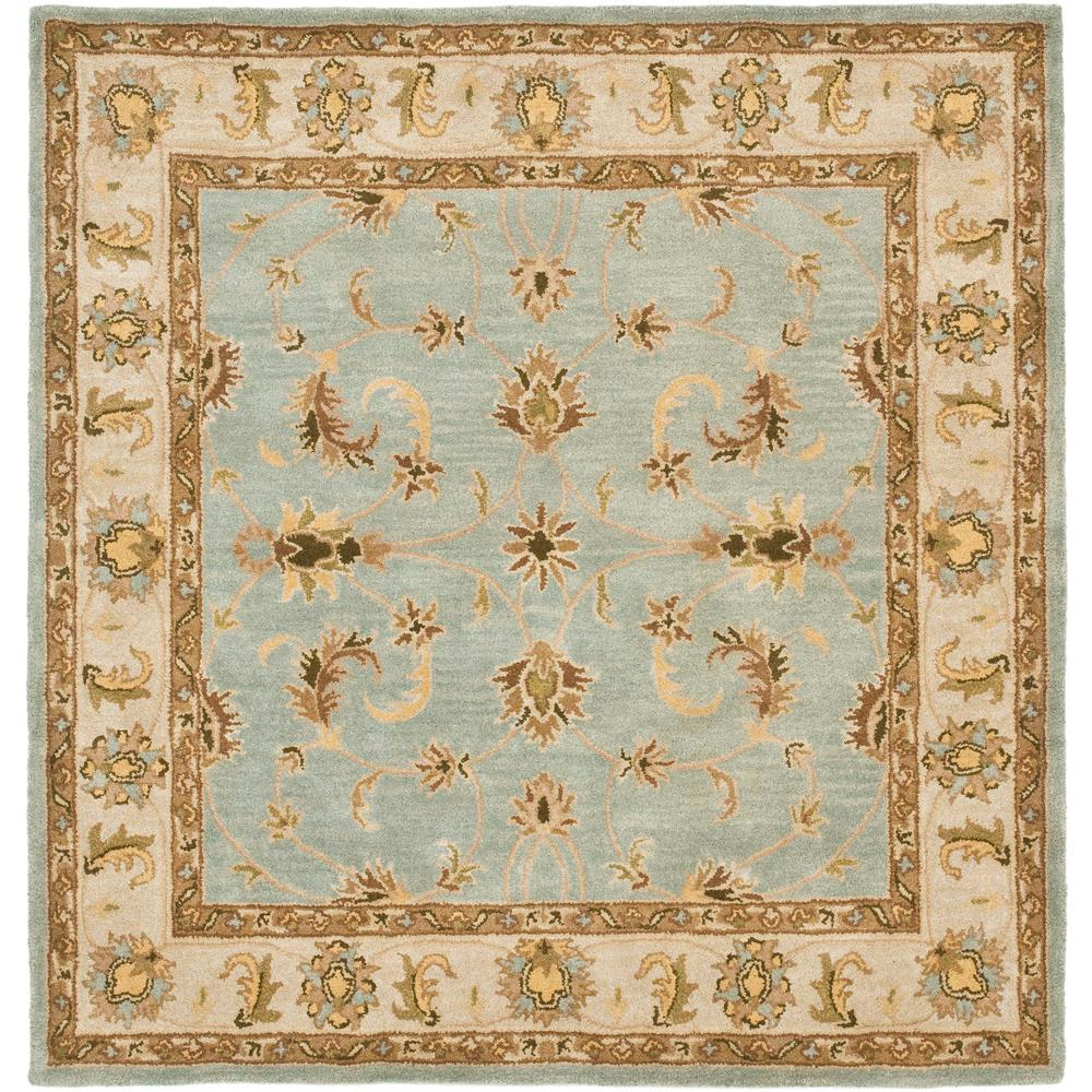 Stella Collection Hand Tufted Area Rug In Beige Light: Safavieh Heritage Light Blue/Beige 7 Ft. 6 In. X 9 Ft. 6
