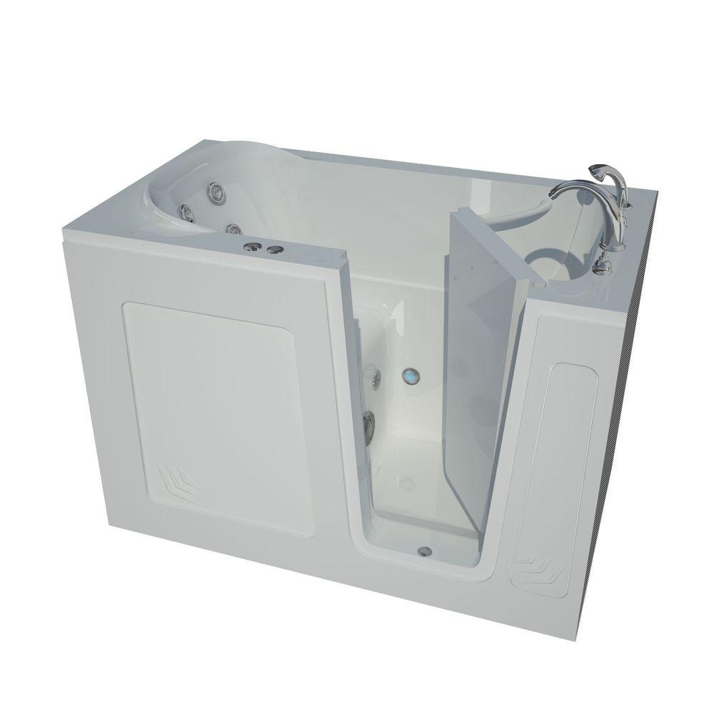 Universal Tubs 4 5 Ft Right Drain Walk In Whirlpool