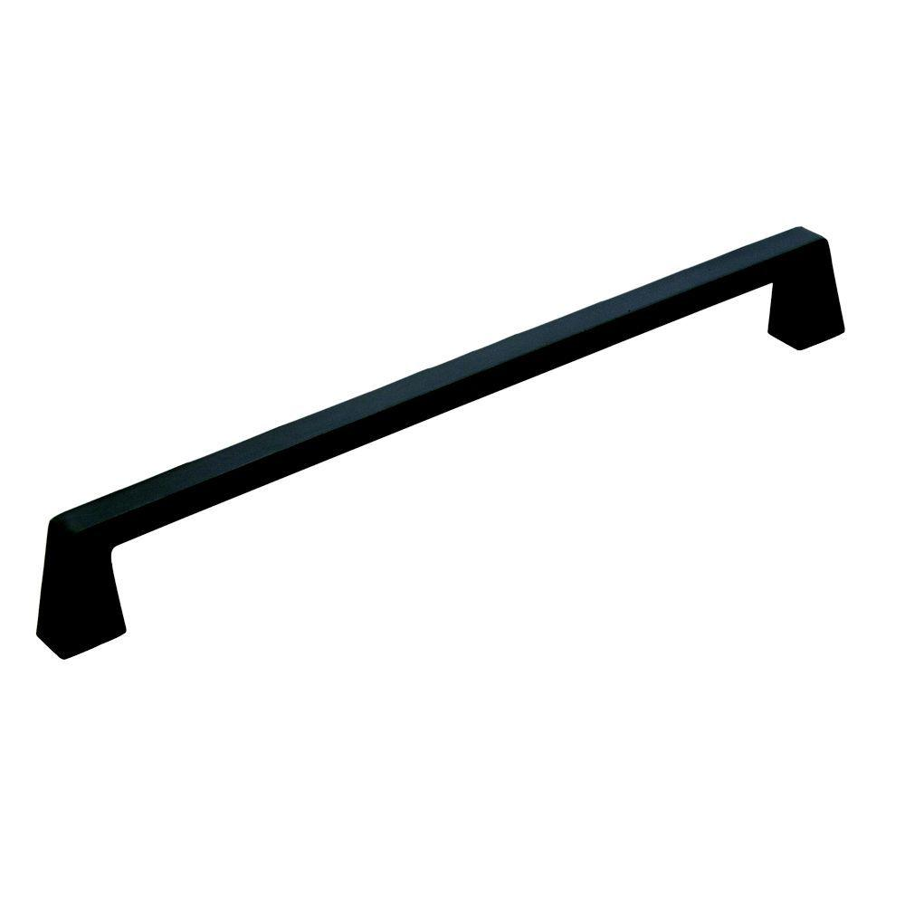 12 in. Blackrock Black Bronze Appliance Pull
