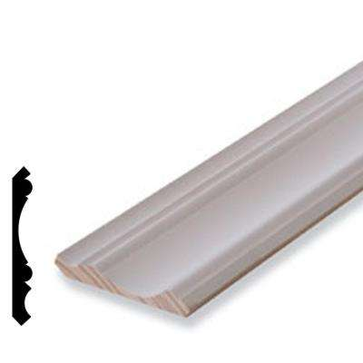 11/16 in. x 5-1/4 in. Primed Pine Finger-Jointed Crown Moulding
