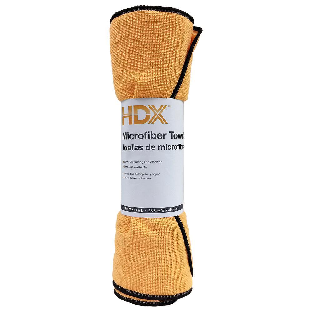 14 in. x 14 in. 6-Roll Microfiber Towels