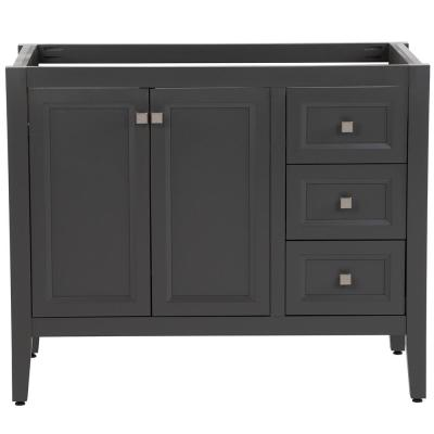 Darcy 42 in. W x 22 in. D Bath Vanity Cabinet Only in Shale Gray