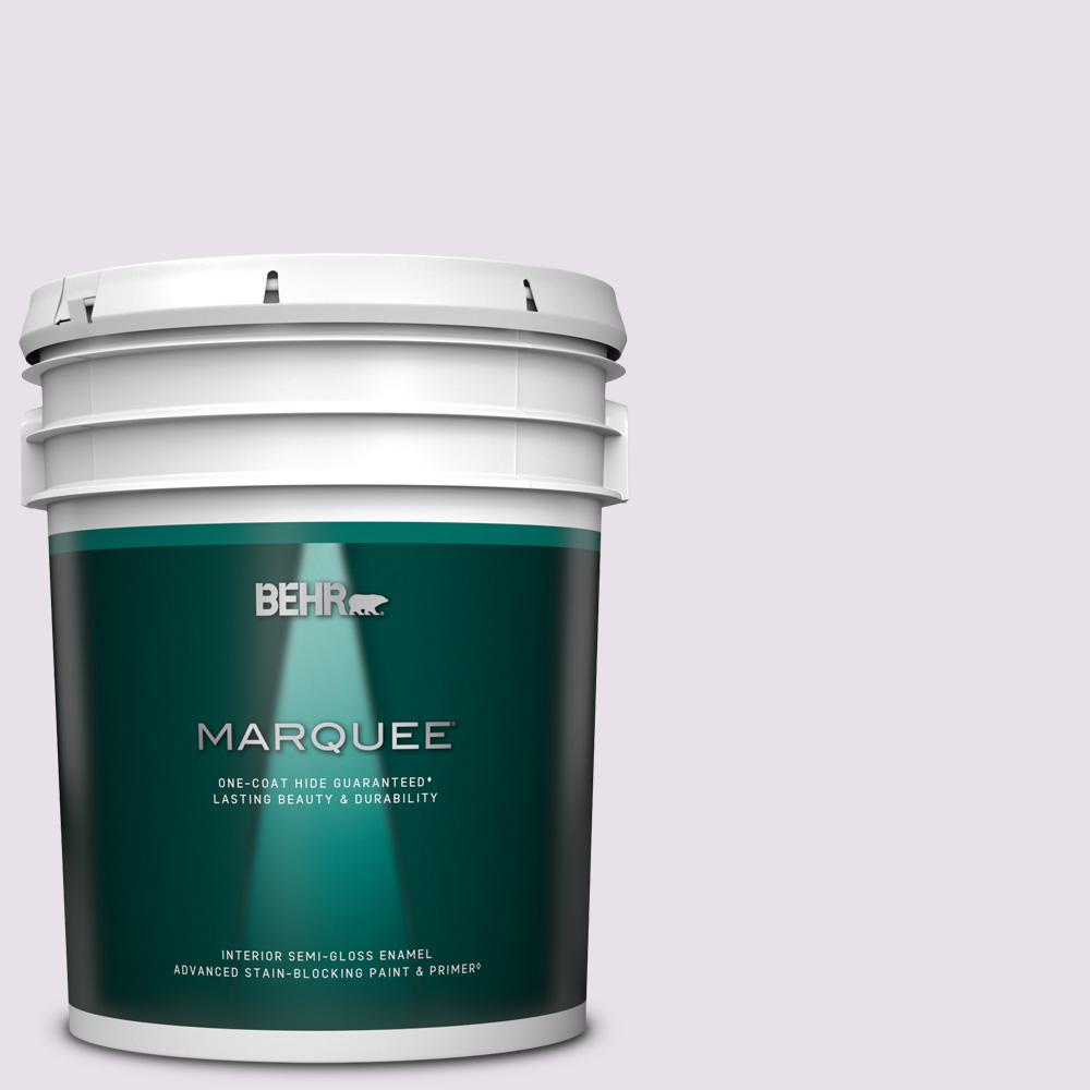Reviews For Behr Marquee 5 Gal 660c 1 Bubble Bath Semi Gloss Enamel Interior Paint Primer 345005 The Home Depot