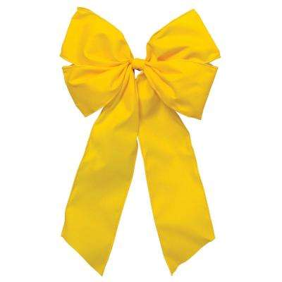 15 in. x 9 in. Welcome Home Yellow Bow (3-Pack)