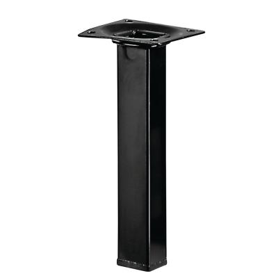 7.8 inch Black Square Table Leg Set (Set of 4)