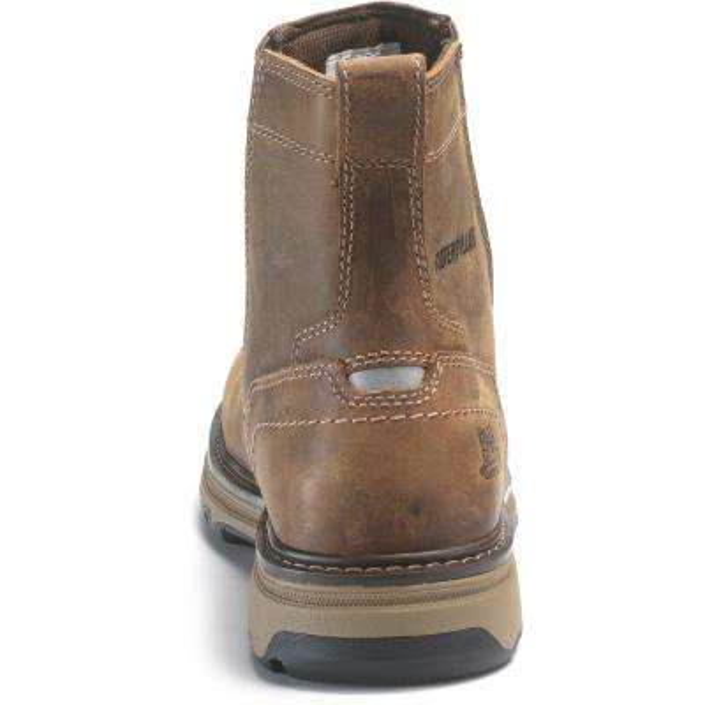 Pelton Men's Size 9- 1/2W Dark Beige Boots