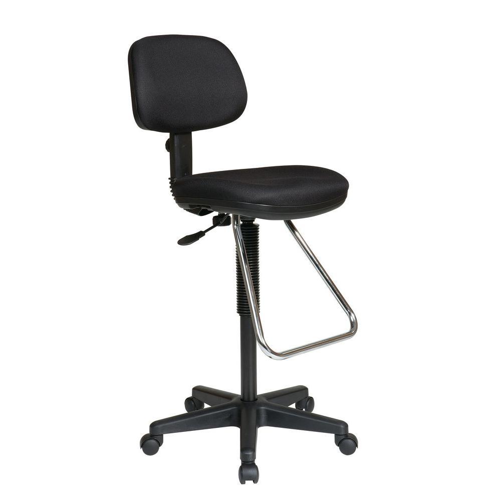 Work Smart Black Office Chair  sc 1 st  Home Depot & Work Smart Black Office Chair-DC430-231 - The Home Depot