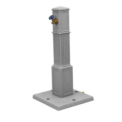 Oasis Garden Hose Tap in Light Granite