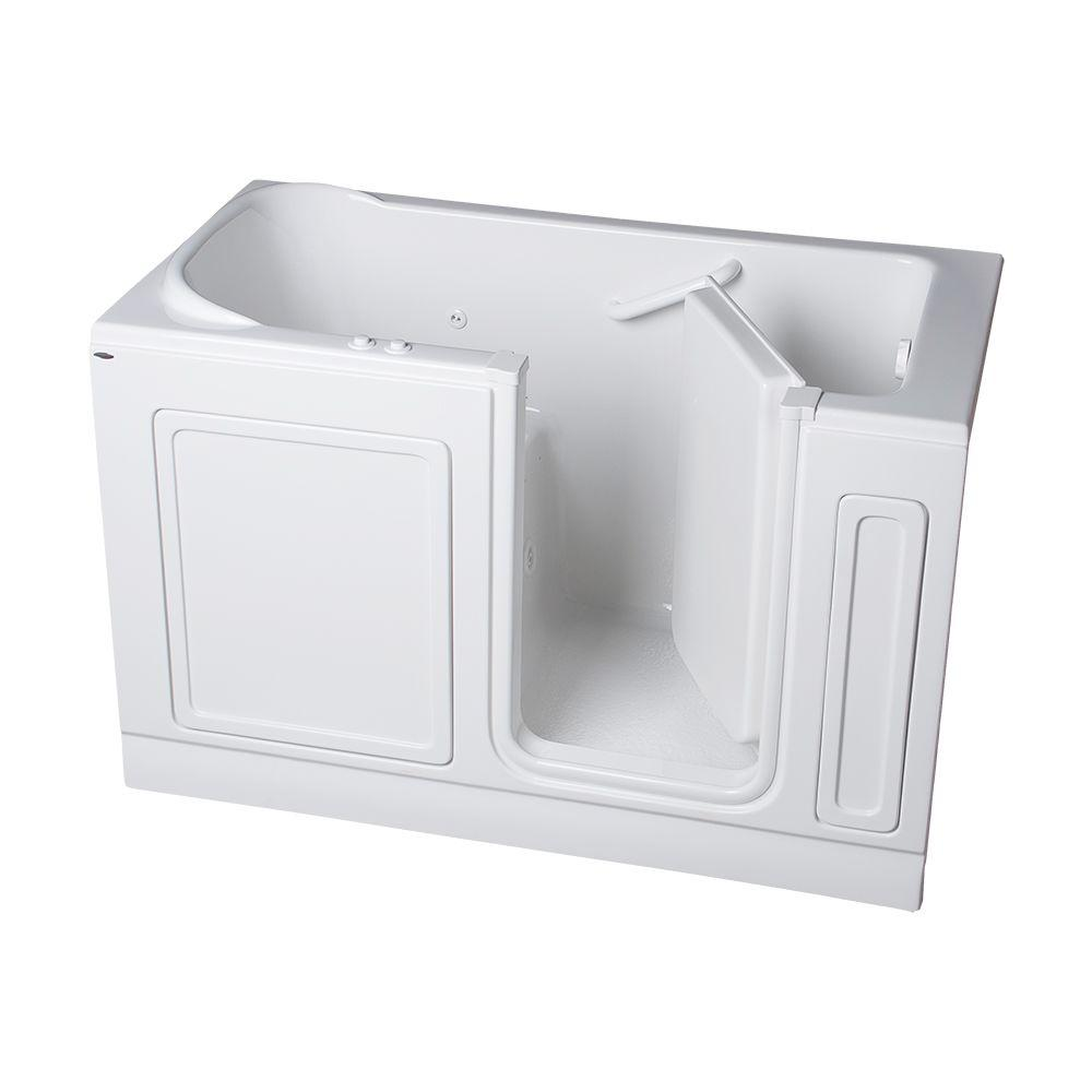 Acrylic Standard Series 60 in. x 32 in. Walk-In Whirlpool and