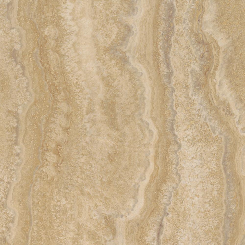 TrafficMASTER Allure Ultra 12 in. x 23.82 in. Aegean Travertine Ivory Luxury Vinyl Tile Flooring (19.8 sq. ft. / case)