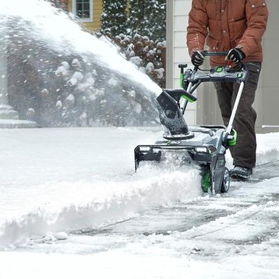 21 in. 56V Lithium-Ion Cordless Electric Single-Stage Snow Blower, Two 5.0 Ah Batteries and Charger Included