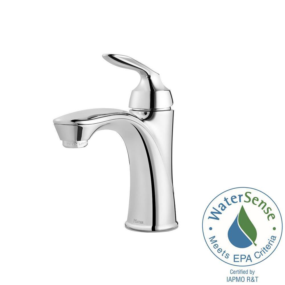 Pfister Avalon Single Hole Single-Handle Bathroom Faucet in Polished ...