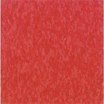 Take Home Sample - Imperial Texture VCT Hot Lips Commercial Vinyl Tile - 6 in. x 6 in.