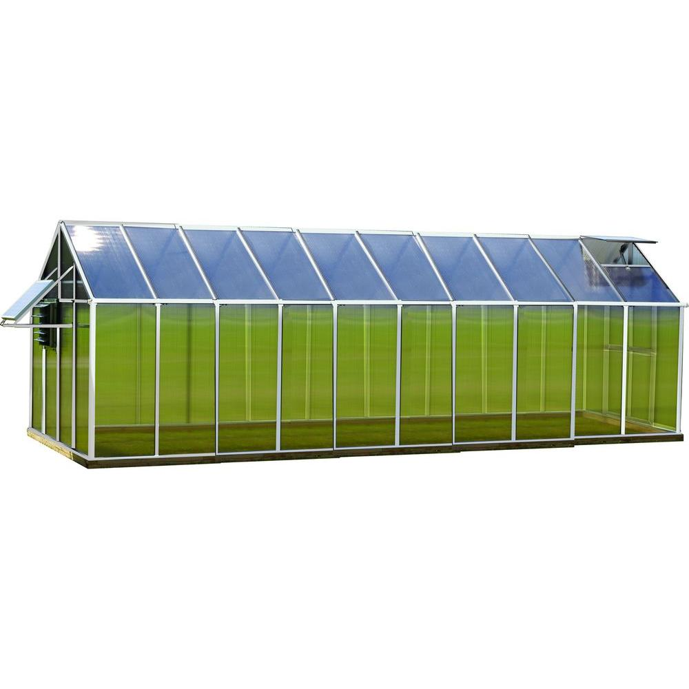8 ft. x 20 ft. Aluminum Mojave Greenhouse