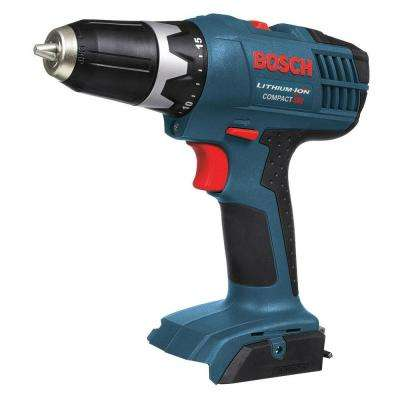 18-Volt Lithium-Ion 3/8 in. Cordless Compact Drill-Driver (Tool-Only)