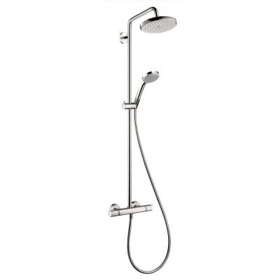 Croma 220 Shower Pipe in Chrome