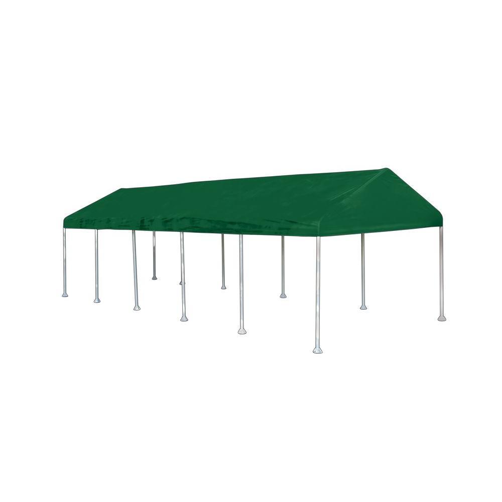 ShelterLogic Decorative Series Celebration II 12 ft. x 30 ft. Green Canopy - DISCONTINUED