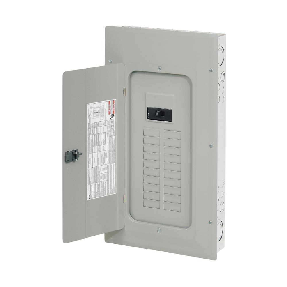 BR 150 Amp 20-Space 30-Circuit Outdoor Main Breaker Panel with NEMA