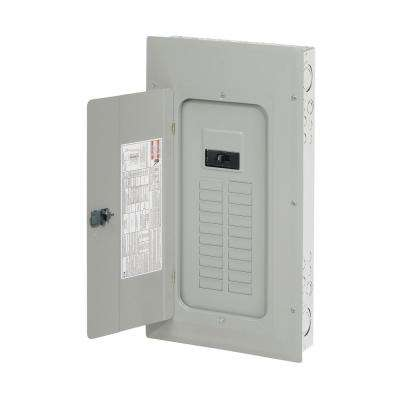 BR 150 Amp 20-Space 30-Circuit Outdoor Main Breaker Panel with NEMA 3R Cover