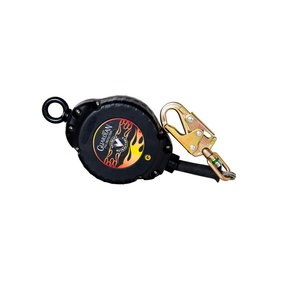 Guardian Fall Protection 3/16 in. x 20 ft. Velocity Small Block Self Retracting Lifeline Cable