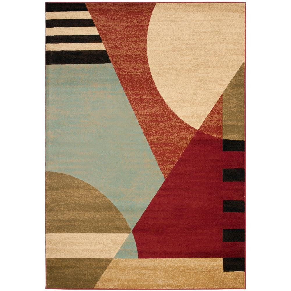 Safavieh Porcello Multi 5 Ft 3 In X 7 Ft 7 In Area Rug