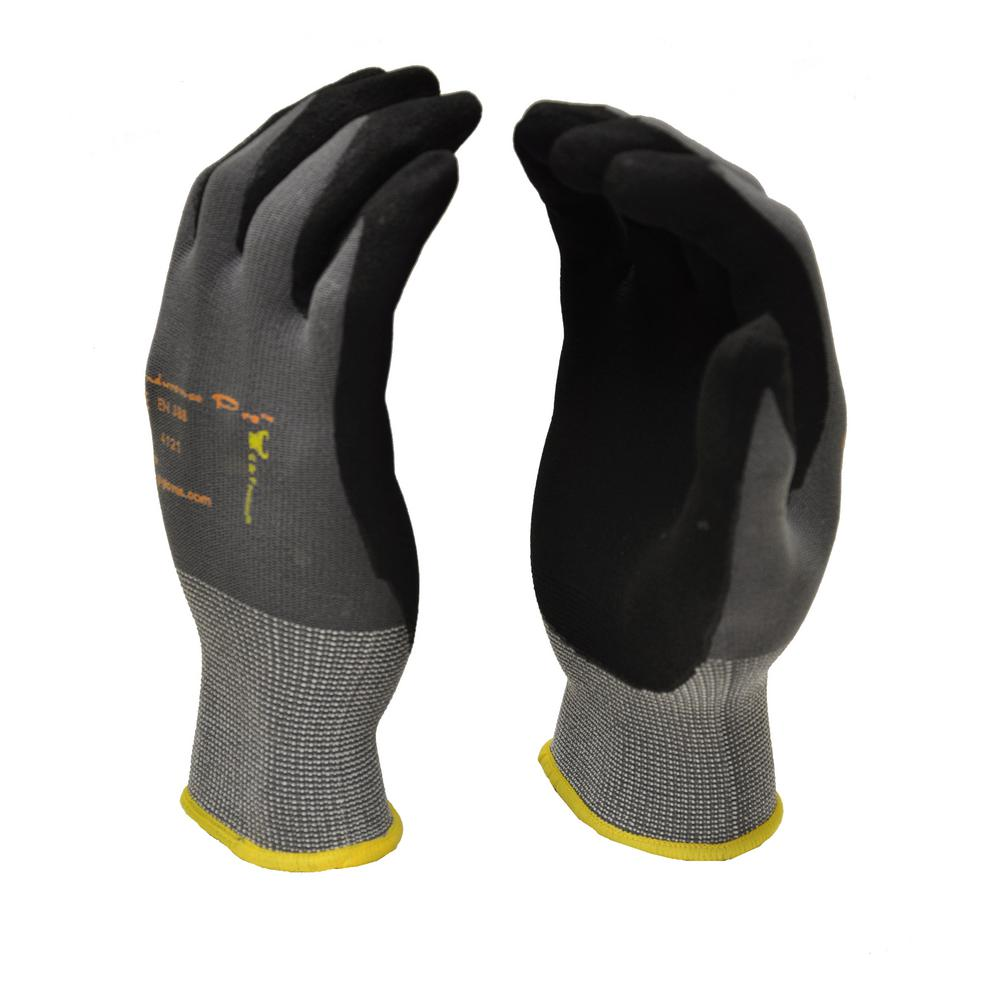 MicroFoam Nitrile Coated Large Work Gloves for General Purposes Lightweight Work