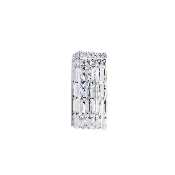 Colosseum 2-Light Chrome Sconce