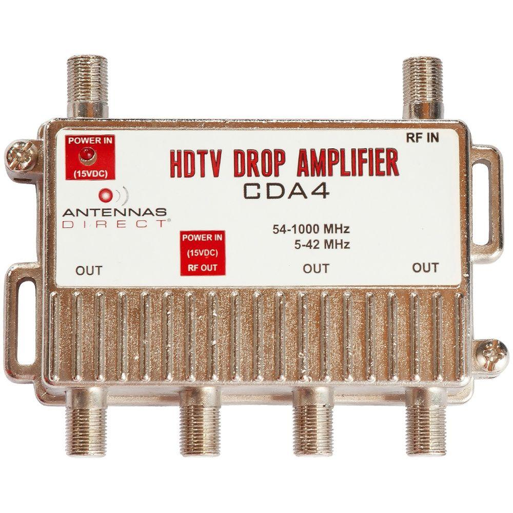 Clearstream 4 Output Tv Catv Distribution Amplifier Cda4 The Home Fm Signal Booster Circuit
