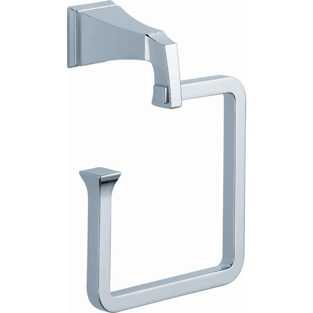 Dryden Open Towel Ring in Chrome