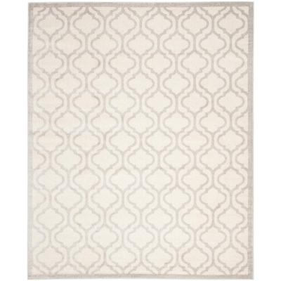 Safavieh Amherst Ivory/Light Gray 9 ft. x 12 ft. Indoor/Outdoor Area Rug