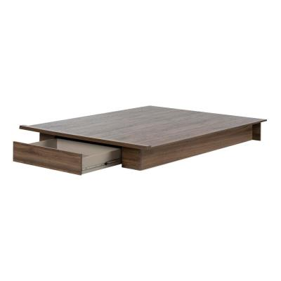 Tao Natural Walnut Full/Queen Bed