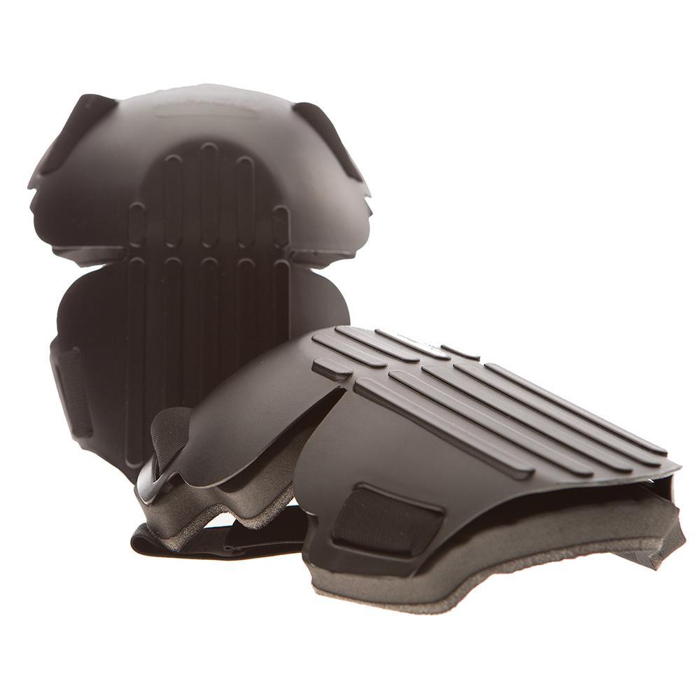Black Hard Shell Knee Pad (Pair)