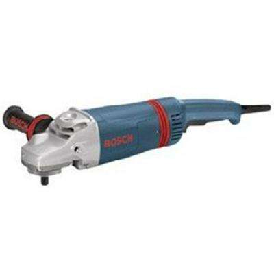 15 Amp Corded 7 in. or 9 in. Large Angle Sander with Vibration Control Auxiliary Handle