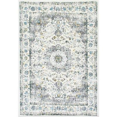 Verona Vintage Persian Gray 8 ft. Square Rug