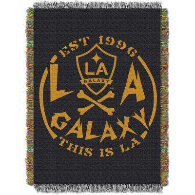 L. A. Galaxy Multi Color Polyester Handmade Tapestry throw