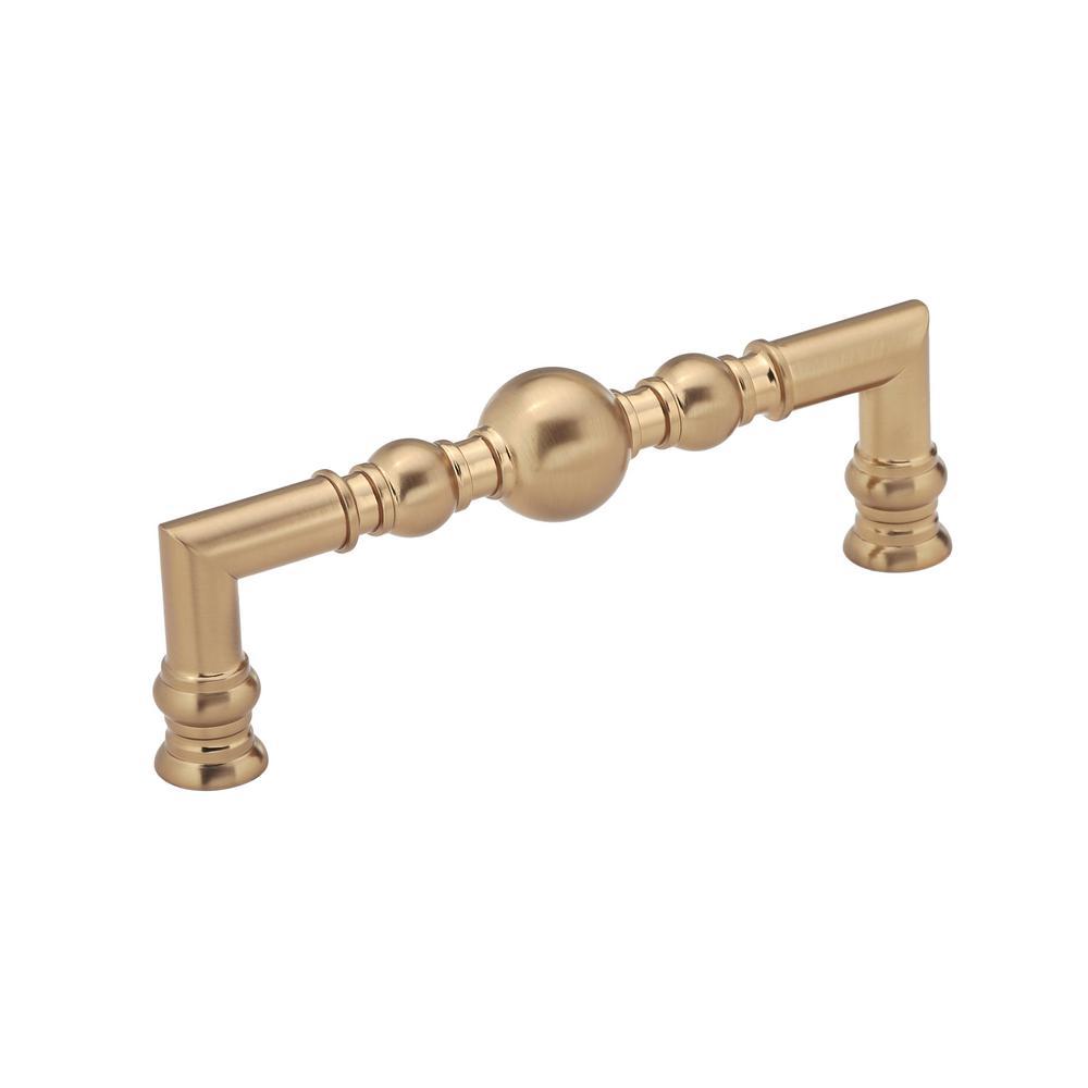 Classic 5 in. (128 mm) Champagne Bronze Cabinet Pull