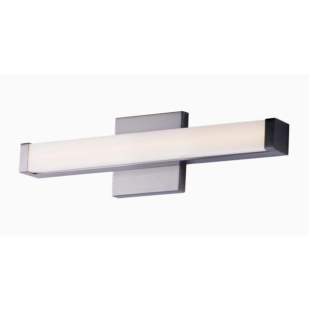 Maxim Lighting Spec 18 in. Satin Nickel LED Vanity Light Bar