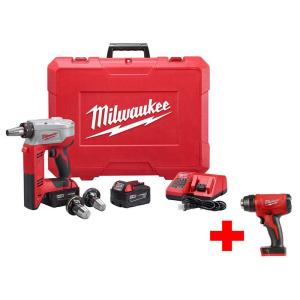 Milwaukee M18 18-Volt Lithium-Ion Cordless ProPEX Expansion Tool Kit with Free M18 Heat Gun by Milwaukee
