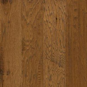 Western Hickory Espresso 3/8 in. T x 5 in. W x Random Length Click Engineered Hardwood Flooring (29.49 sq. ft. / case)