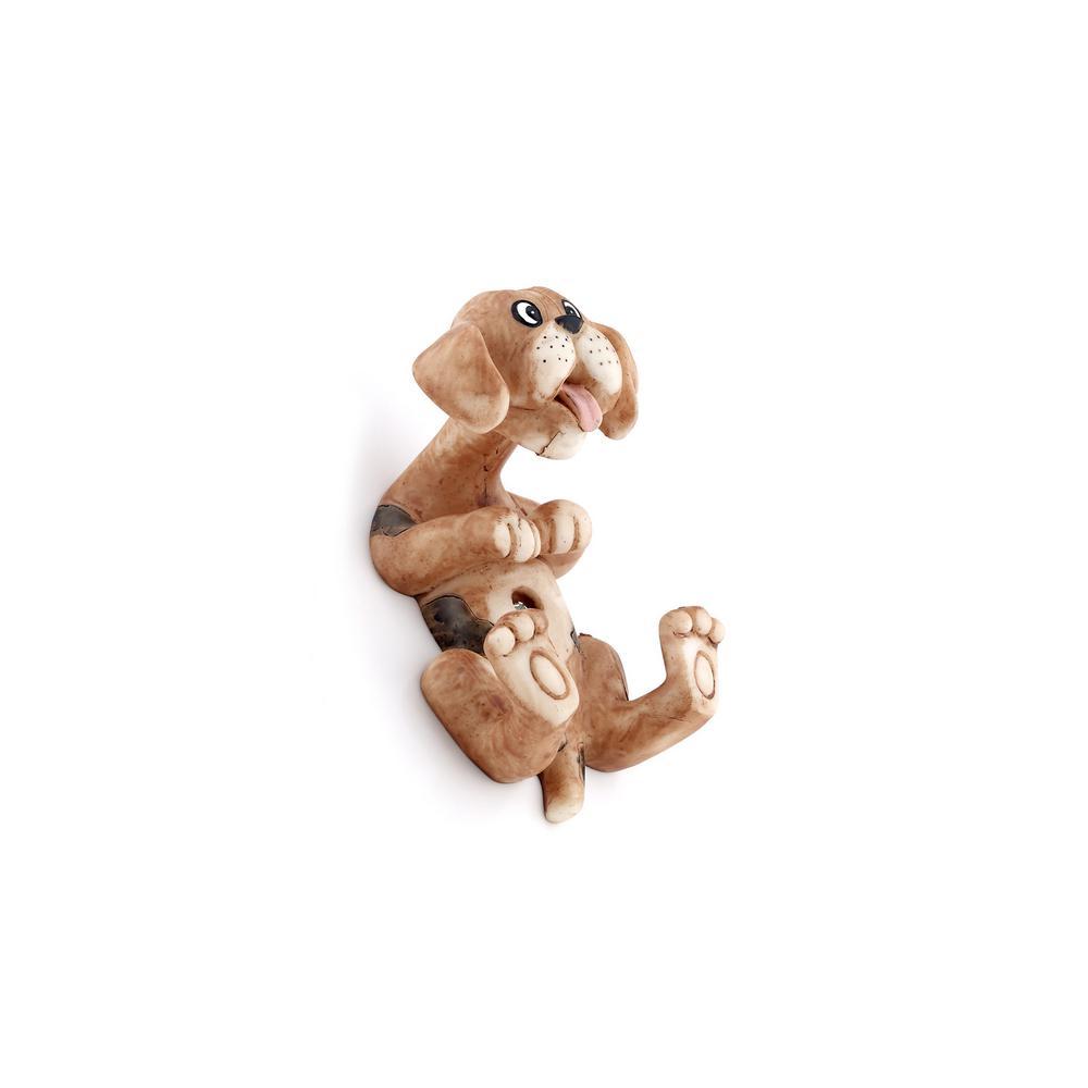 Children 4-29/32 in. Dog Decorative Hook