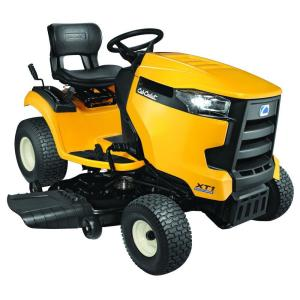 Cub Cadet XT1 Enduro Series LT 46 inch 22 HP V-Twin Kohler Hydrostatic Gas Front-Engine Riding Mower by Cub Cadet