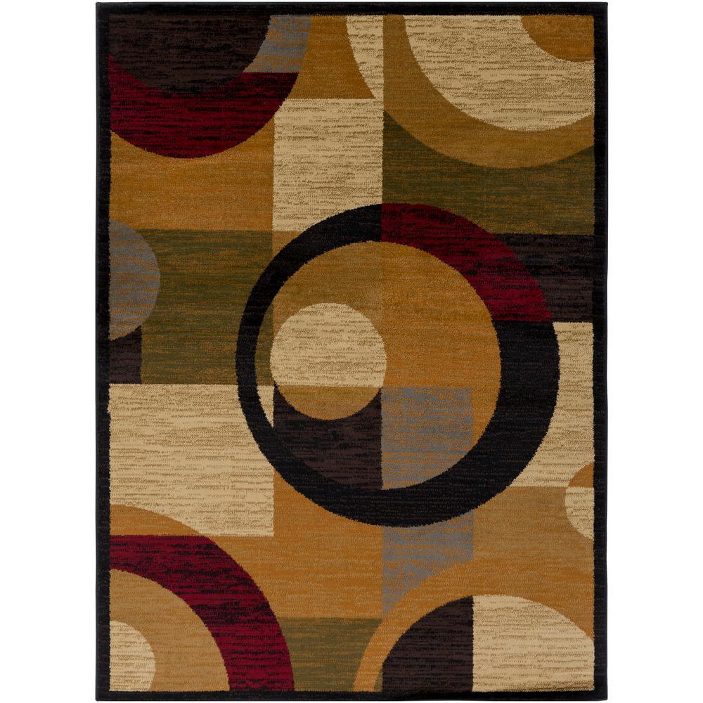 Artistic Weavers Anatoli Burnt Orange 7 Ft. 10 In. X 10 Ft. 3