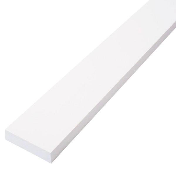 Trim Board Primed Pine Finger-Joint (Common: 1 in. x 3 in. x 8 ft.; Actual: .719 in. x 2.5 in. x 96 in.)