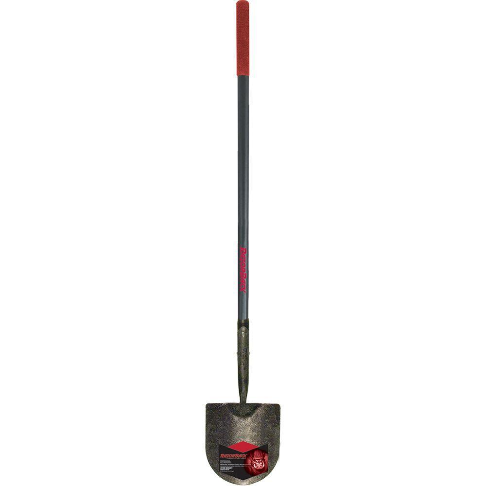 45 in. Fiberglass Handle Caprock Irrigation Shovel