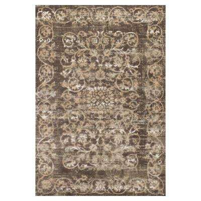 Hacienda Taupe 3 ft. 3 in. x 4 ft. 7 in. Area Rug