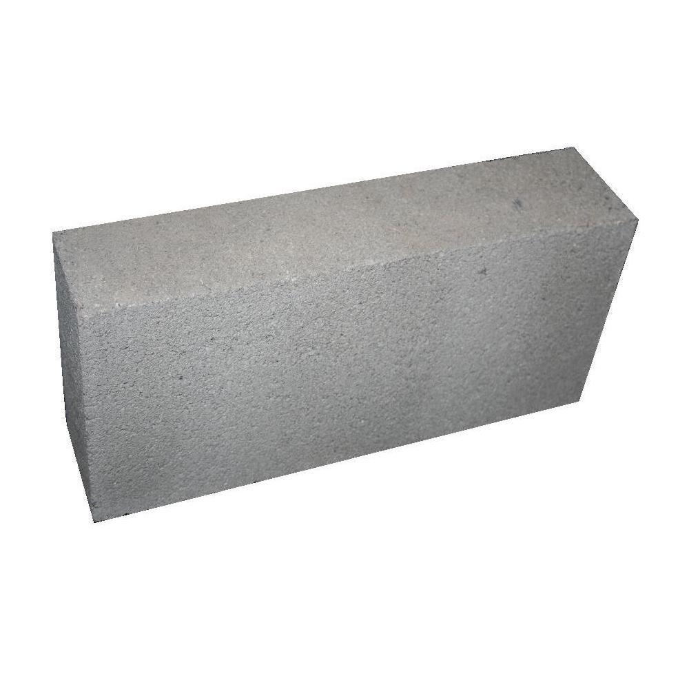 8 in. x 4 in. x 16 in. Concrete Solid Block